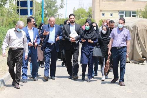 بازدید خبرنگاران استان همدان از شرکت دانش بنیان الوان ثابت